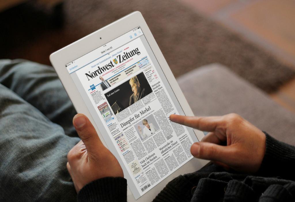 Nordwest-Zeitung lockt E-Paper-Abonnenten mit unwiderstehlichen Angeboten an