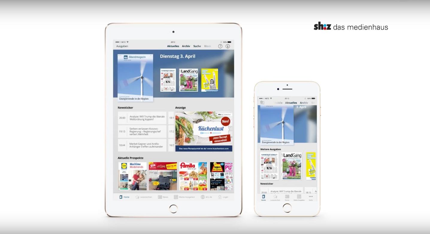 Was wir von der neuen sh:z App gelernt haben: Erhöhen Sie alle Parameter