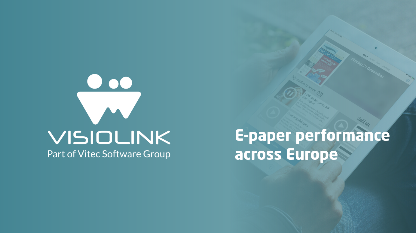 Visiolink-Business-Intelligence-E-paper-performance